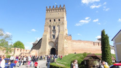 Lithuania controlled most of Ukraine once, fortifying it with many castles as it was the border with Islamic world