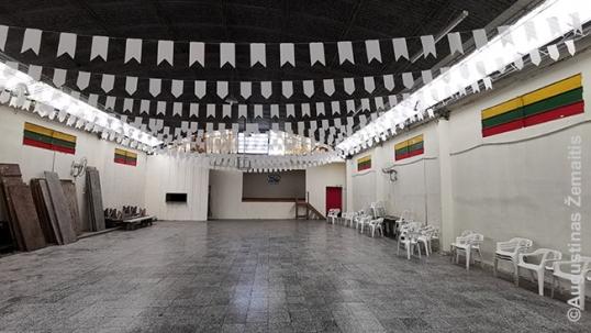 Rosarijo lietuvių klubo salė
