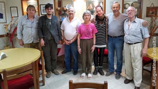 Su Susivienijimo lietuvių Argentinoje nariais