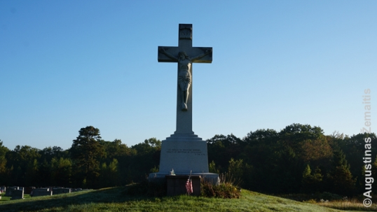 Wilkes-Barre Lithuanian cemetery cross