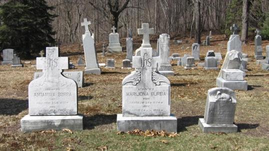 Senosios Šv. Kazimiero lietuvių kapinės Larksvilyje