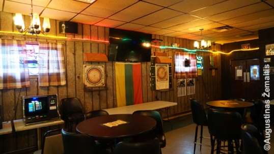 Pittston Lithuanian club interior