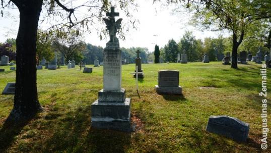St. Joseph Lithuanian cemetery in Scranton
