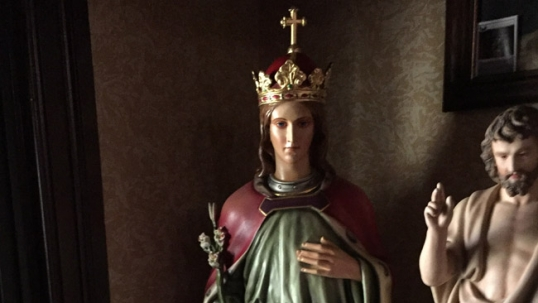 St. Casimir statue in Pittston