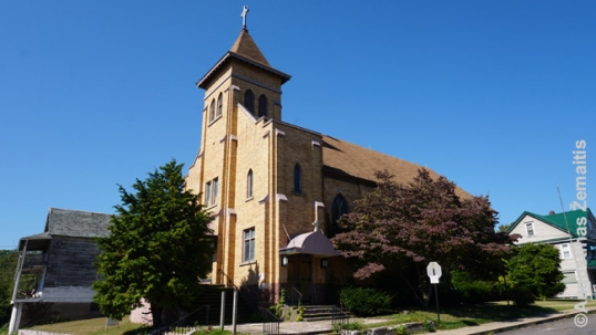 Wanamie Lithuanian church