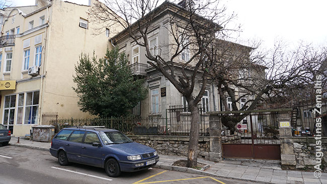 House where Jonas Basanavičius lived at Mirskiy street