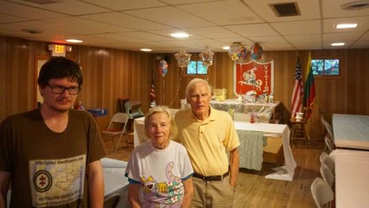 Tikslas - Amerika pasitikimas Gardnerio lietuvių klube