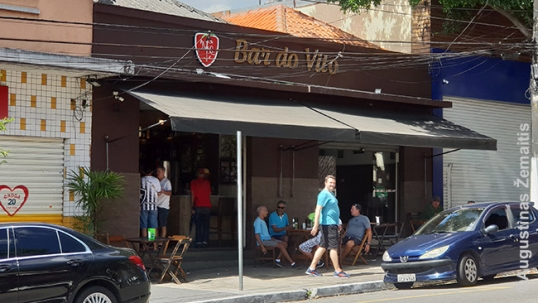 Bar Do Vito with Vytis logo