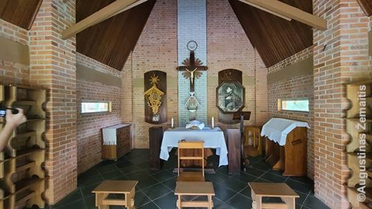 Lietuvių koplyčioje Lituanikoje