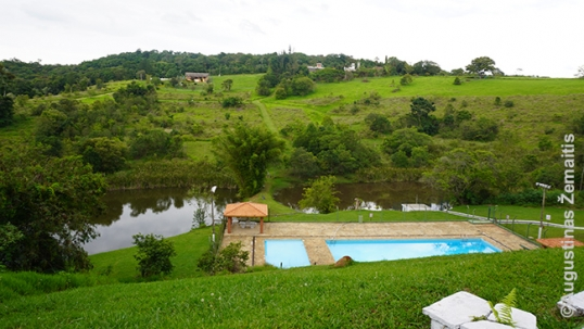 Lituanika relaxation zone with a pool and ponds