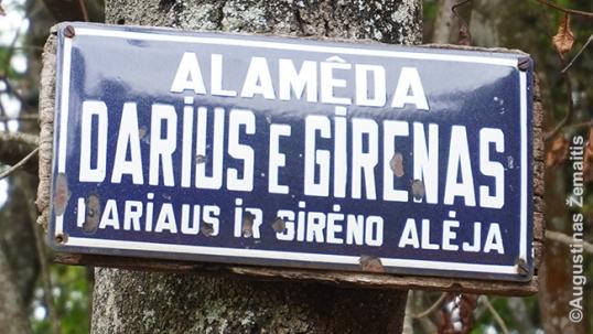Gatvės pavadinimas Lituanikoje