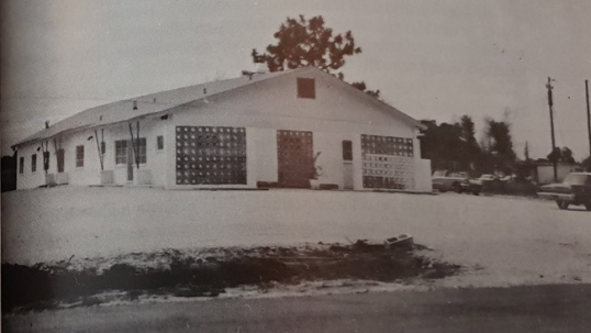 St. Petersburg Lithuanian club as it looked soon after its construction in 1964