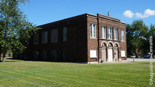 Gary Lithuanian school (old church)