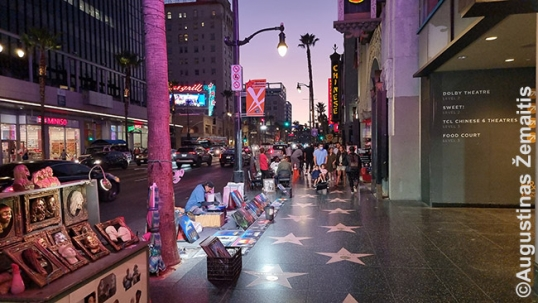 Los Angeles Hollywwod Walk of Fame