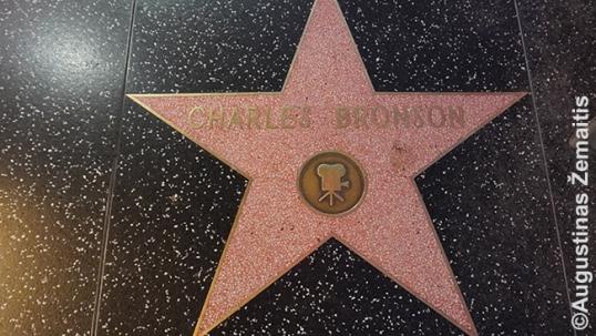 Charles Bronson star at the Hollywood Walk of Fame