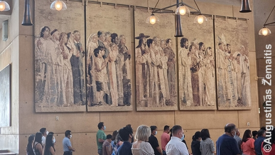 Los Angeles cathedral tapestries