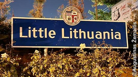 Little Lithuania plaque