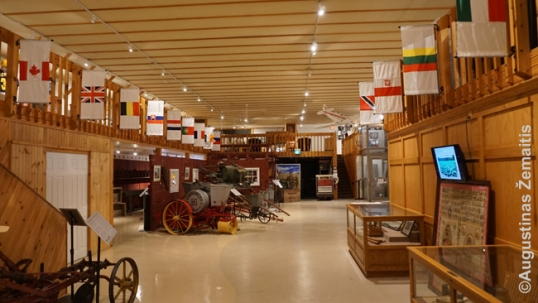 Interior of the Tobacco Museum in Delhi