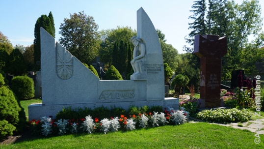 Priest Ažubalis grave