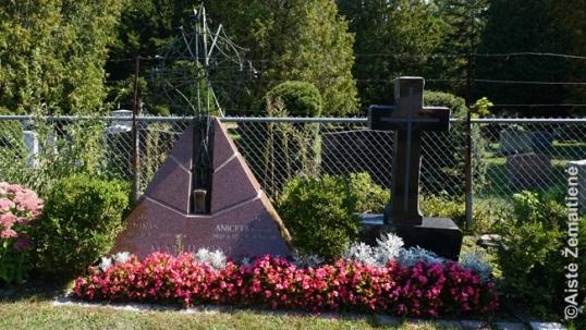 J. Matulionio kapas Šv. Jono kapinėse