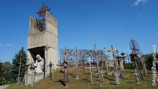 Hill of Crosses and the Lithuanian Martyrs chapel of the Mississauga St. John Lithuanian cemetery