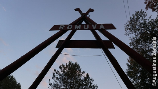 Top of the Romuva gate