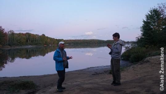 Pasivaikščiojimas po Romuvą su Viktoru Šimkumi temstant