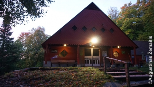 Main Hall of the Romuva Lithuanian Scout camp of Canada