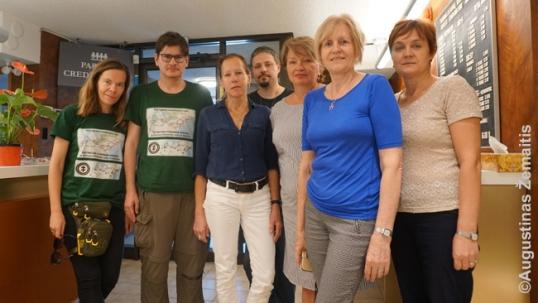 Kartu su Toronto lietuvių namų kolektyvu