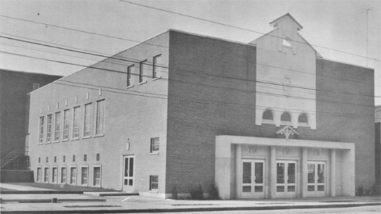 Ressurection Lithuanian church of Toronto as it stood before 2001