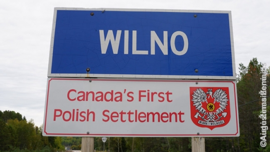 Wilno sign