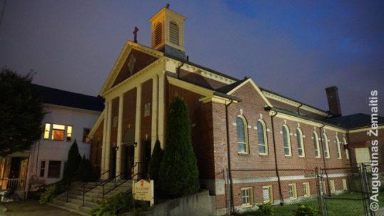 Providenso Šv. Kazimiero lietuvių bažnyčia Rod Ailande