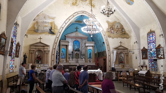 Montevideo Lithuanian church interior