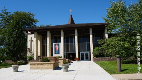 Kenosha St. Peter Lithuanian church, as it looks now