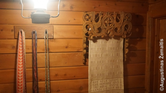 Lithuanian house of Milwaukee public museum (interior fragment)