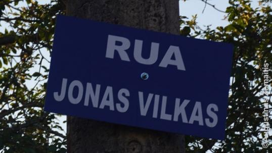 Jonas Vilkas street in Angatuba
