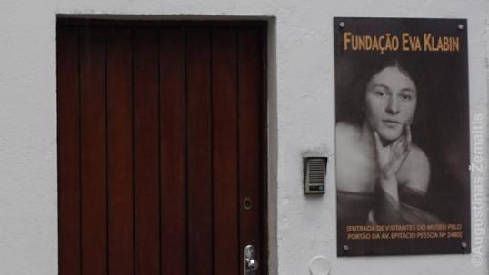 Įėjimas į Evos Klabin muziejų Rio de Žaneire