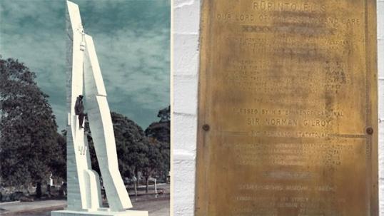 Sidnėjaus kapinių paminklas lietuviams