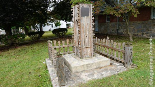 Ansonijos lietuviškasis paminklas