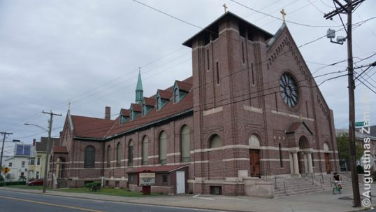 New Britain Lithuanian church