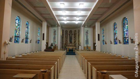 Putnam o vienuolyno koplyčios vidus