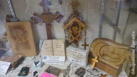 The Siberian book of prayers and other things of the Soviet-expelled Lithuanians in the convent museum