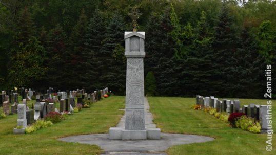 Dangaus vartų kapinės Putname