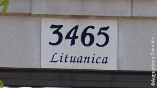 Lituanica Street address