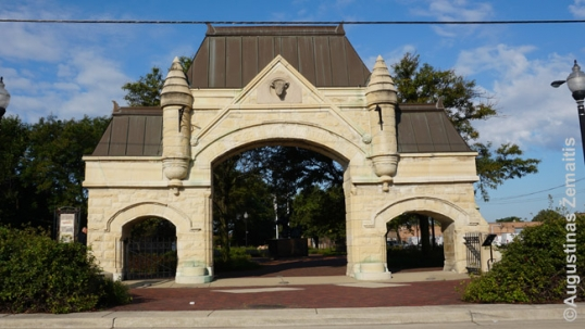 Union Stockyard gate in Chicago