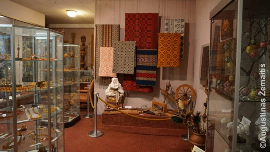 Exhibits of the Balzekas Lithuanian museum of Chicago