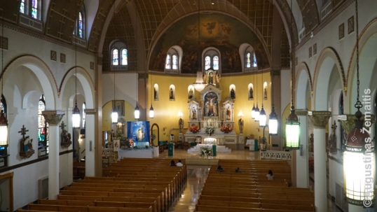 Cicero St. Anthony Lithuanian church (interior)