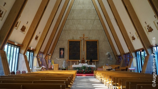 Lithuanian World Center chapel