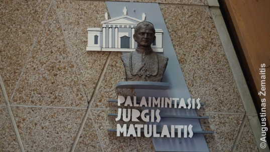 Jurgis Matulaitis at the Lithuanian World Center chapel