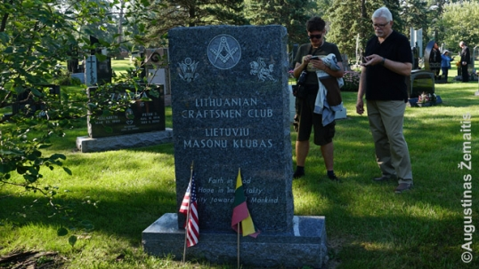 Lithuanian freemasons memorial